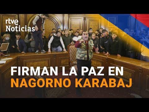 ARMENIA y AZERBAIYÁN firman la PAZ en NAGORNO KARABAJ | RTVE