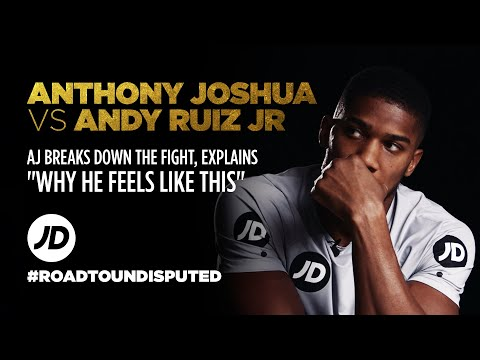 jdsports.co.uk & JD Sports Promo Code video: Anthony Joshua Explains Andy Ruiz Jr Fight Round By Round