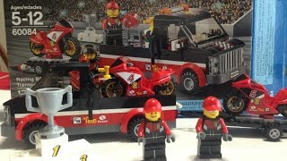 Lego Racing Bike Transporter 60084