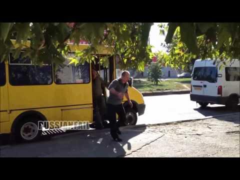 Kierowca busa kontra pijany Rosjanin