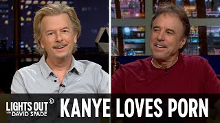 The New Alphabet Song & Kanye's Porn Addiction (feat. Kevin Nealon) - Lights Out with David Spade