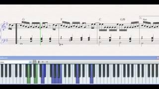 Partitura Piano Alguien ( Kany Garcia ) demo