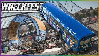 WE MUST CONQUER THE LOOP! | Wreckfest