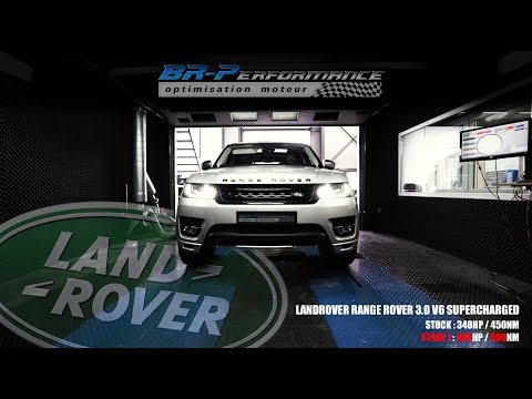 LANDROVER RANGE ROVER 3.0 V6 SUPERCHARGED Remap Stage 1 By BR-Performance