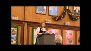Die Wiesnbedienung von und mit Franziska Wanninger (Video: Gerd Bruckner)