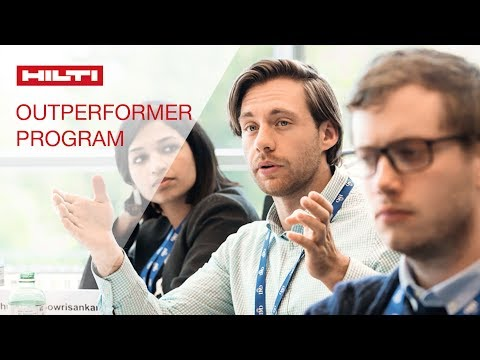 LEARN about the Hilti Outperformer interview and onboarding process