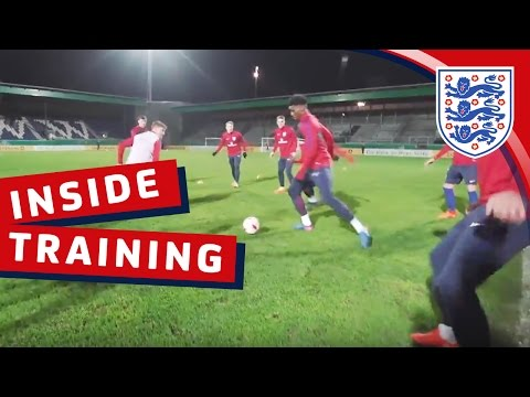 England U21 tiki-taka rondo drill   Inside Training