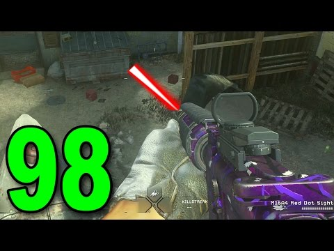 Modern Warfare Remastered GameBattles - Part 98 - HIS M16 DOESNT MISS!