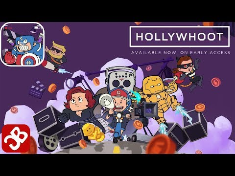 Hollywhoot: Idle Parody - iOS/Android Gameplay Video