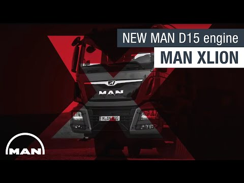 MAN XLION I The new MAN D15 engine