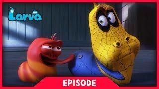 LARVA - SPIDER MAN LARVA | 2017 Cartoon Movie | Cartoons For Children | 라바 | LARVA Official width=