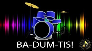 Comedy Punchline Rimshot Drum Sound Effect