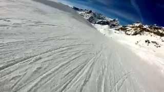 Snowboard Breuil-Cervinia, December 2014