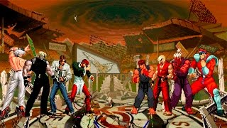 M.U.G.E.N: The King Of Fighters VS Street Fighter