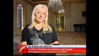 Ágata - 1º Jornal (SIC@4 Out 2013)