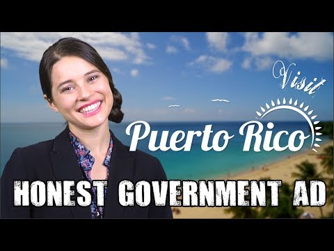 Honest Government Ad | Visit Puerto Rico!