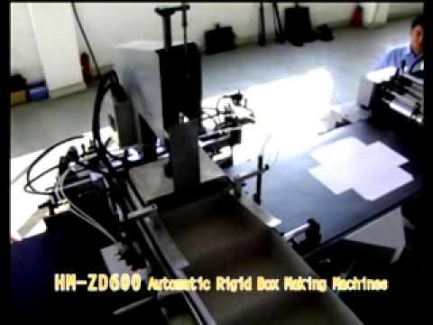 HM-ZD-600 TAM OTOMATİK KUTU TASLAMA MAKİNASI