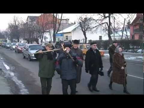 Стрий. Хода на честь річниці бою під Крутами.
