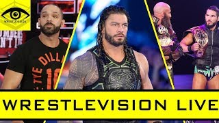 Roman Reigns RETURNS To WWE! - WrestleVision LIVE - February 23, 2019