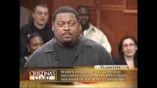 Shawn Harris Cristinas Court..FUNNIEST COURT SHOW EVER! folllow me on instagram @comedianshawnharris
