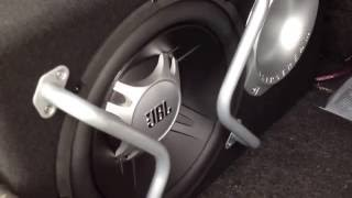Subwoofer Jbl 1100 watt + ampli impact 700 watt BASS TEST