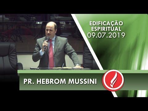 Pr. Hebrom Mussini   As qualidades de Davi   Salmos 78.68   09 07 2019