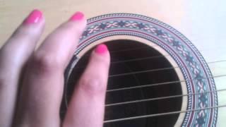 ASMR Português - Violão ( acoustic guitar) tapping