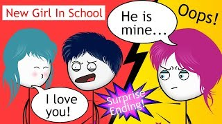 When a New Girl in school has a Crush on Gamer PART 1