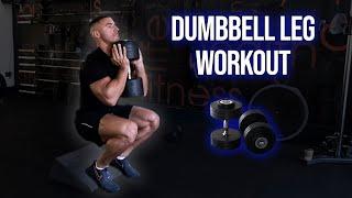 Full Leg Workout Using ONLY Dumbbells