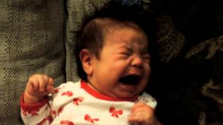 baby crying so sad
