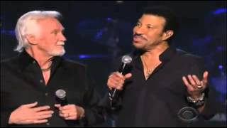 Lionel Richie & Kenny Rogers    LADY