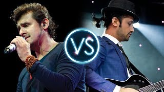 Atif Aslam Vs Sonu Nigam Challenge ( Original Voice ) - Exclusive Compilation