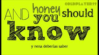 Coldplay - Green eyes (Lyrics & Subtitulos)
