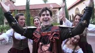 Medieval Times Cast Galavant Sing-a-long
