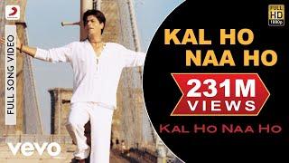 Kal Ho Naa Ho - Title Track Video   Shahrukh Khan, Saif, Preity width=