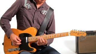 How to Play Chicken Pickin' Style Licks   Country Guitar