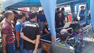 KV Sound System Bermasalah ketika mau Cek Sound acara SMEX 4-5-2018 Surabaya
