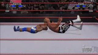 WWE SmackDown vs. Raw 2007 Xbox 360 Gameplay - Carlito