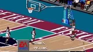 NBA Live 98 - (Sega Genesis/Mega Drive)