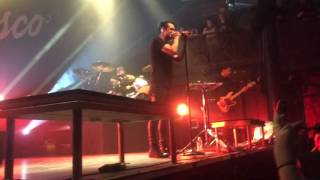 *FIRST LIVE PERFORMANCE* PANIC! AT THE DISCO- LA DEVOTEE- The NorVa- Norfolk, VA- 12/6/2015