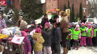 Powitanie wiosny przez przedszkolaków Słupsk 2013