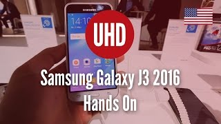 Samsung Galaxy J3 2016 Hands On [4K UHD]
