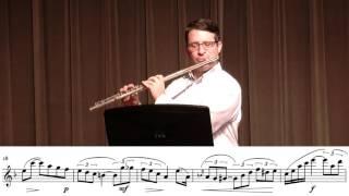 OkMEA 2016-17 All-State Flute Etude - First Round: - Andersen - D Minor