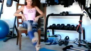 quick ankle cast cardio workout