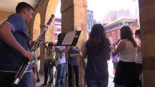 Música en la calle con la Escuela Internacional de la FPA