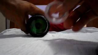 como transformar lanterna comum em lanterna de luz verde