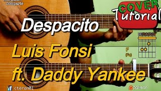 Despacito - Luis Fonsi feat. Daddy Yankee Instrumental Cover/tutorial Guitarra
