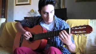 Con te partirò - guitar cover by Nico Delogu