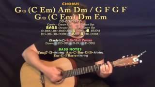 Ivy (Frank Ocean) Guitar Lesson Chord Chart
