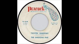 The Shadows Five - Twistin' Shadows  - Great Spooky Surf Instrumental